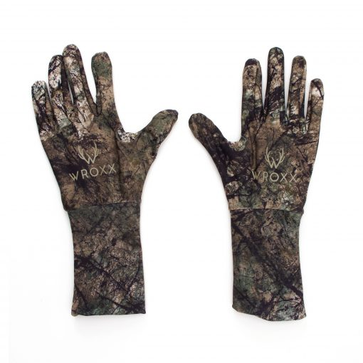 Hunting Gloves with Wild Woods Camolith Pattern