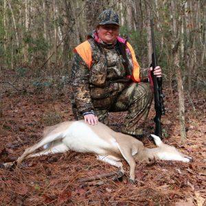 Wife gets her deer
